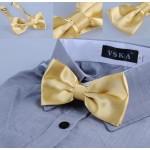 bowtie classic old gold