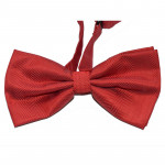 Red bowtie pattern