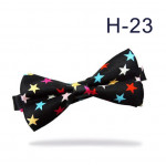 bowtie in black asterisks
