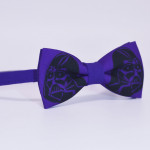 Бабочка фиолетовая - Dart Veider Helm Bow Tie House Basic 06937