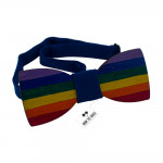Бабочка Rainbow flag LGBT movement Bow Tie House™ 08319