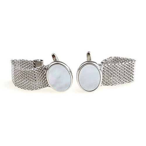 Запонки элитные Luxury Chain Cufflinks  Bow Tie House 09972