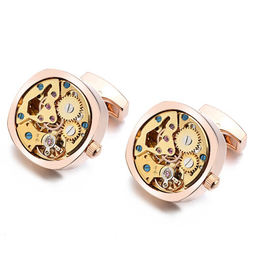Запонки Watch Movement Bow Tie House 09971