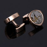 Запонки Watch Movement - Gold Bow Tie House 09969