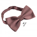 Бабочка большая атласная Smoky Rose Bow Tie House 10286L