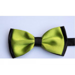 bowtie two-layer apple-green