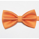 Stylish orange bowtie