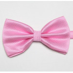 Stylish pink bowtie